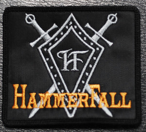 "HammerFall - Swords 4x3"" Embroidered Patch"