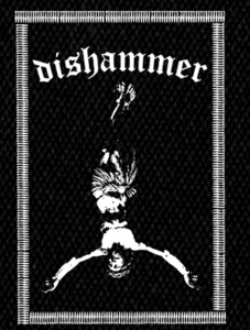 "Dishammer - Inverted Christ 4x6"" Printed Patch"