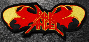 "Dark Angel - Red Wings Logo 5x2"" Embroidered Patch"