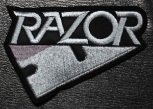 "Razor - Razor 4x2.5"" Embroidered Patch"
