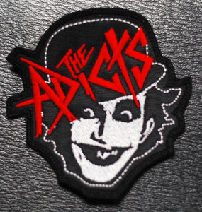 "The Adicts - Monkey 3x3"" Embroidered Patch"