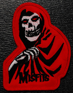 "Misfits - Red Crimson Ghost 2.5x4"" Embroidered Patch"