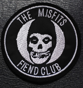 "Misfits - Fiend Club 3x3"" Embroidered Patch"