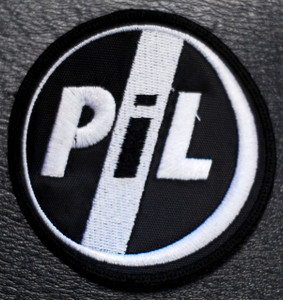 "P.I.L. Public Image Ltd - Logo 3x3"" Embroidered Patch"