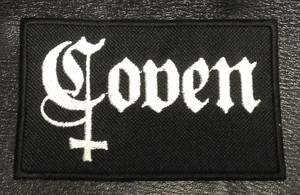 "Coven - Black 4x2.5"" Embroidered Patch"
