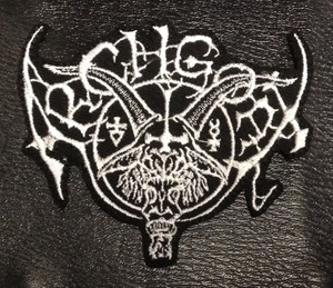 "Archgoat - Shaped Logo 4x3"" Embroidered Patch"