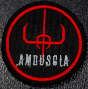 "Amduscia - Logo 4x4"" Embroidered Patch"