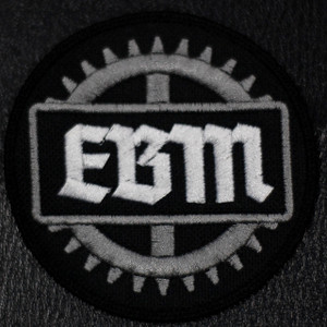 "EBM - Cog Logo 4x4"" Embroidered Patch"
