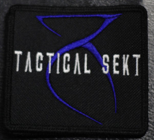 "Tactical Sekt - Logo 4x3"" Embroidered Patch"
