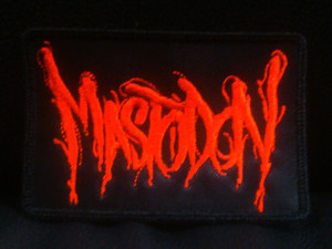 "Mastodon - Logo 4x3"" Embroidered Patch"