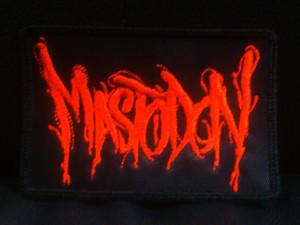 "Mastodon - Logo 4x3"" Embroidered Patch"