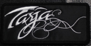 "Tarja - Logo 4.5x2"" Embroidered Patch"