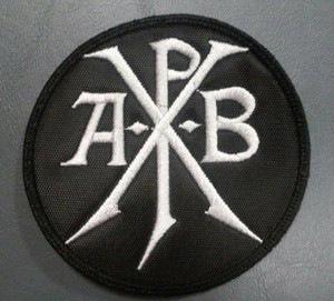 "Apoptygma Berzerk - APB Logo 3x3"" Embroidered Patch"