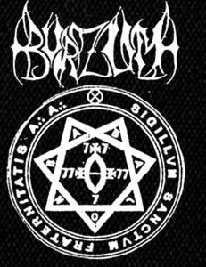 "Burzum - Heptagram 4x6"" Printed Patch"