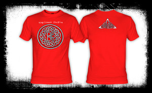 King Crimson - Discipline Red T-Shirt