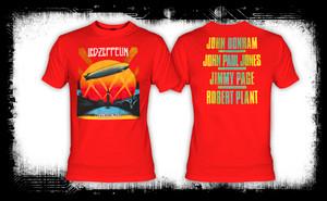 Led Zeppelin - Celebration Day Red T-Shirt