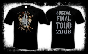 At the Gates - Suicidal Tour 2008 T-Shirt