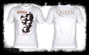 Queen - Forever White T-Shirt