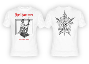Hellhammer - Apocalyptic Raids White T-Shirt