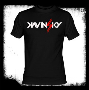 Kavinsky - Logo T-Shirt Last Ones In Stock!