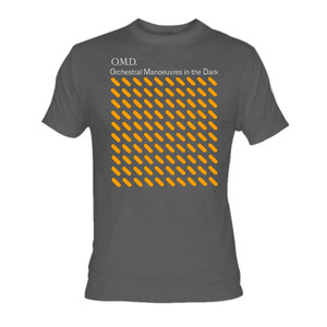 OMD - Orchestral Manoeuvres in the Dark Grey T-Shirt