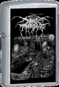 Darkthrone - F.O.A.D. Chrome Lighter FOAD Black Metal