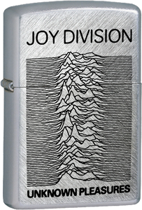 Joy Division - Unknown Pleasures Chrome Lighter Post Punk