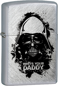Darth Vader - Who's Your Daddy Chrome Lighter Star Wars