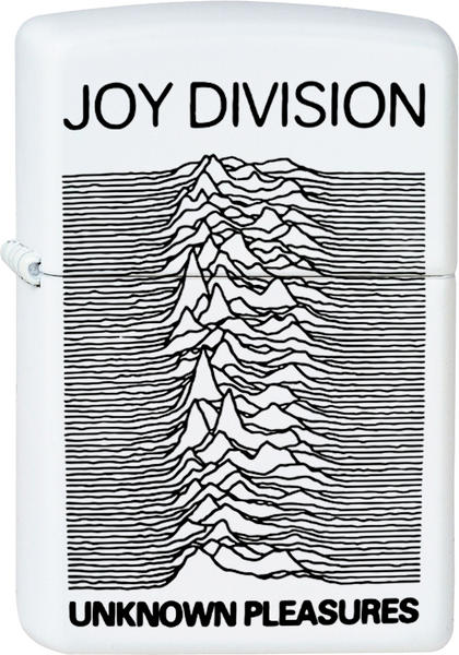 joy division unknown pleasures white lighter post punk nuclear waste. Black Bedroom Furniture Sets. Home Design Ideas