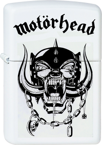 Motorhead - Logo White Lighter