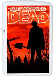 The Walking Dead - Comic Cover White Lighter