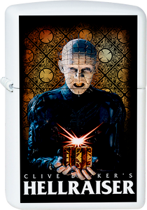 Hellraiser - Pinhead White Lighter Monsters Horror Movie Clive Barker