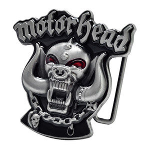 Motorhead - Logo Small Metal Belt Buckle