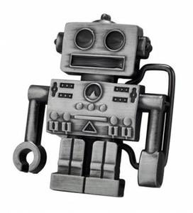 Robot - Small Metal Belt Buckle