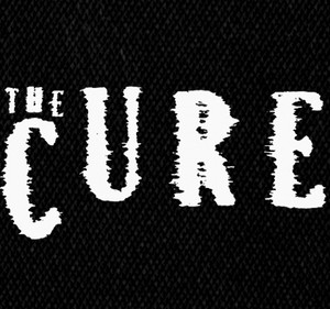 "The Cure - Logo 5x3"" Printed Patch"