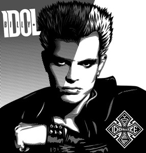 "Billy Idol - Idolize Yourself 6x6"" Printed Patch"