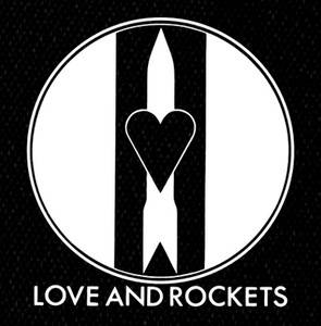 "Love and Rockets - Logo 6x6"" Printed Patch"