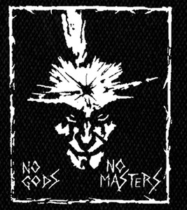 "Amebix - No Gods, No Masters 4x5"" Printed Patch"