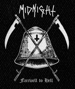 "Midnight - Farewell to Hell 4x5"" Printed Patch"