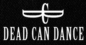 "Dead Can Dance - Logo 7x4"" Printed Patch"