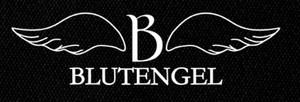 "Blutengel - Logo 12x5"" Printed Patch"