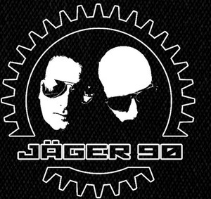 "Jager 90 - Faces Logo 4x4"" Printed Patch"