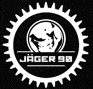 "Jager 90 - Jäger Logo 5x5"" Printed Patch"