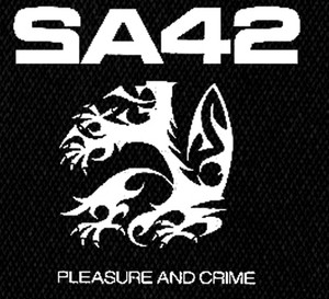 "SA42 - Pleasure and Crime 4x4"" Printed Patch"
