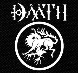 """Daath - Dååth Logo 6x5"""" Printed Patch"""