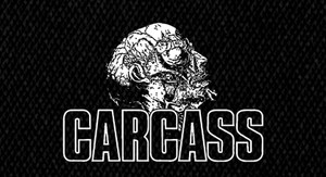 "Carcass - Head Logo 5x4"" Printed Patch"
