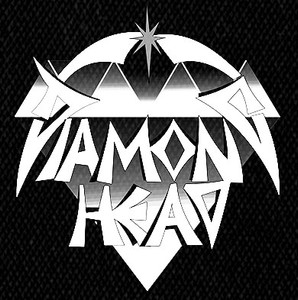 "Diamond Head - Logo  5x5"" Printed Patch"