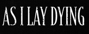 "As I Lay Dying - Logo 6x2"" Printed Patch"