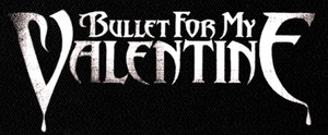 "Bullet for my Valentine - Logo 6x3"" Printed Patch"