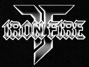 "Iron Fire - Logo 5x4"" Printed Patch"